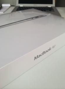 mac book air 開封