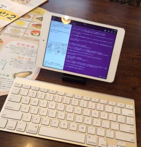 iPad mini retina 外付けキーボード