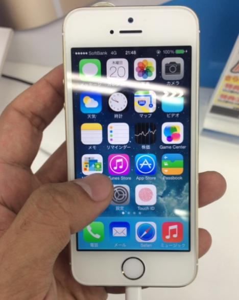 iPhone5s 4インチ