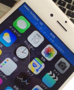 iPhone6 softbank sim テザリング
