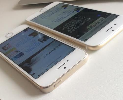 iPhone6 電源ボタン スリープ