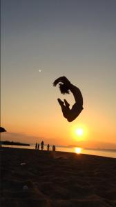 ジャンプ iPhone 撮影