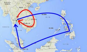 アジア 東南アジア 旅 バックパッカー