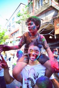 ホーリー コルカタ 2015 インド