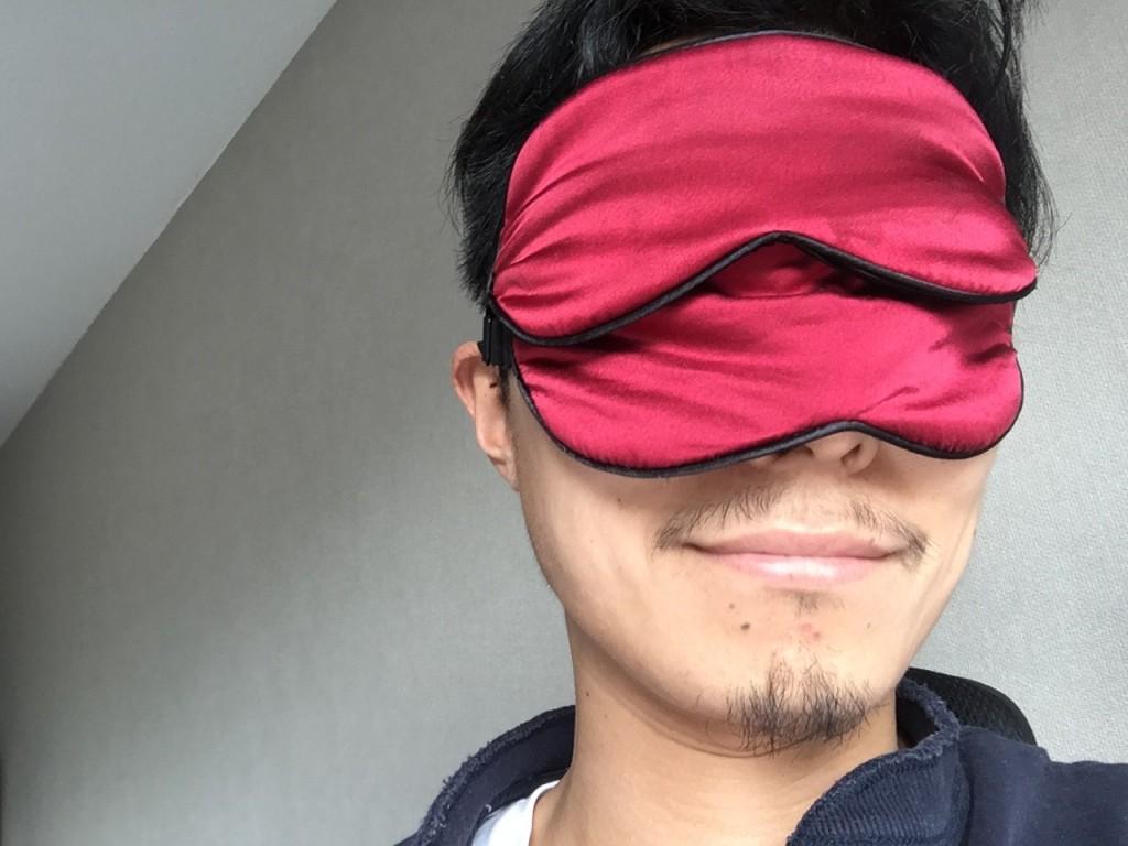 100%天然シルクアイマスク