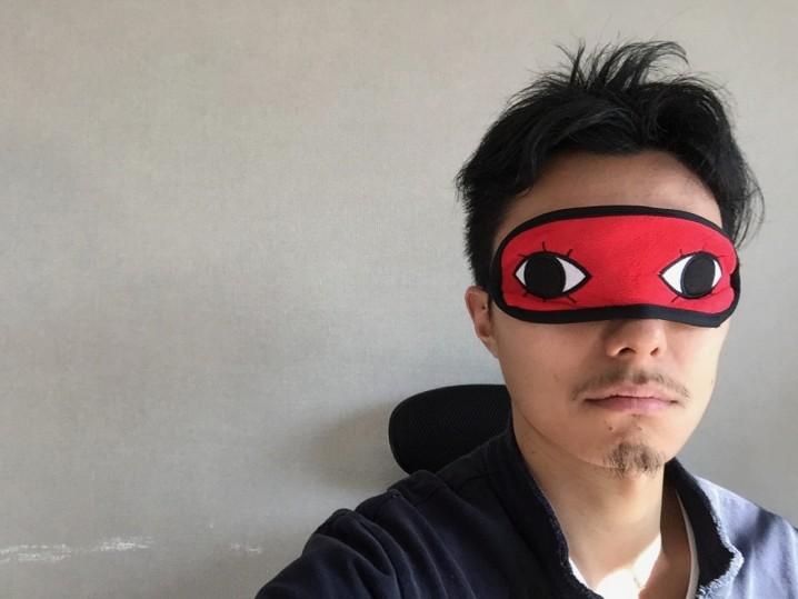銀魂 沖田総悟風アイマスク